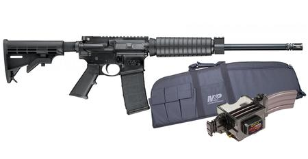 SMITH AND WESSON MP15 Sport II 5.56mm Optics Ready Rifle with Caldwell Mag Charger and Duty Serie