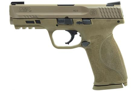SMITH AND WESSON MP40 M2.0 40SW FDE W/ TRUGLO TFX SIGHTS