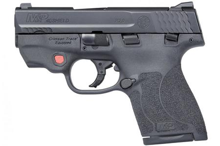 SMITH AND WESSON MP40 Shield M2.0 40SW with Crimson Trace Laser and Thumb Safety