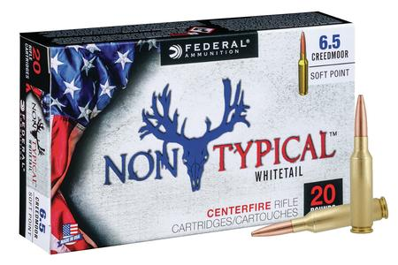 Federal 6.5 Creedmoor 140 gr Soft Point Non Typical 20/Box