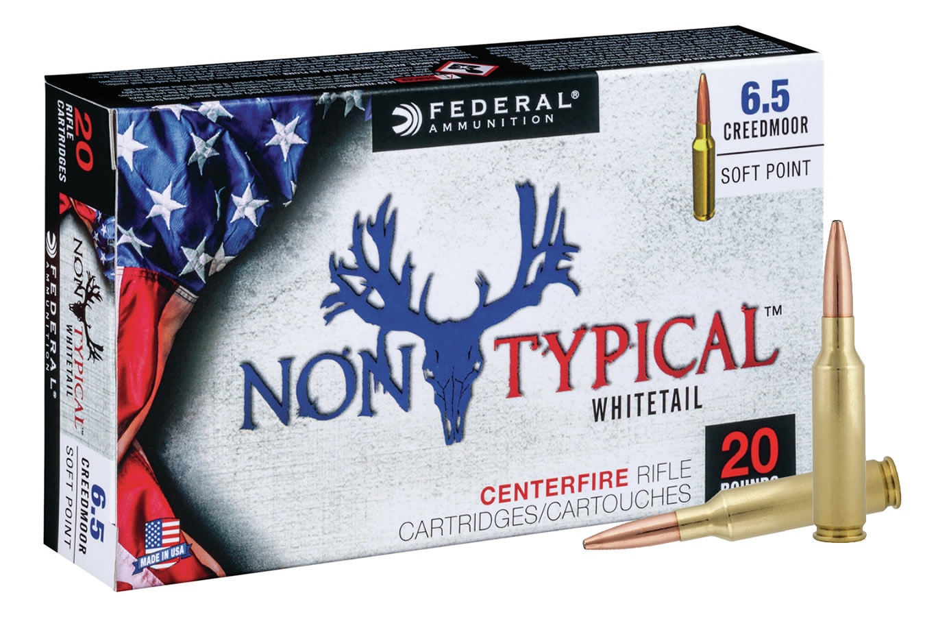 6.5 CREEDMOOR 140 GR SP NON-TYPICAL