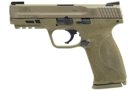 SMITH AND WESSON MP9 M2.0 9MM FDE W/ TRUGLO TFX SIGHTS