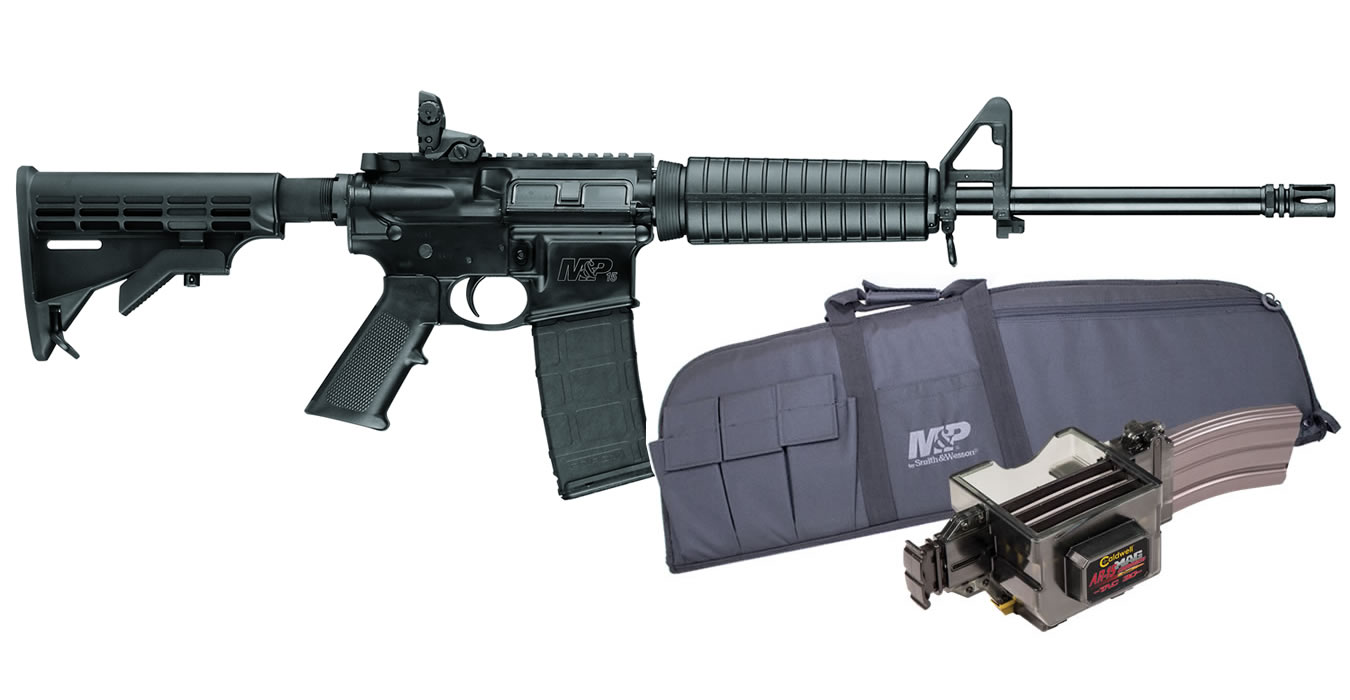 No. 4 Best Selling: SMITH AND WESSON MP15 SPORT II 5.56 PACKAGE