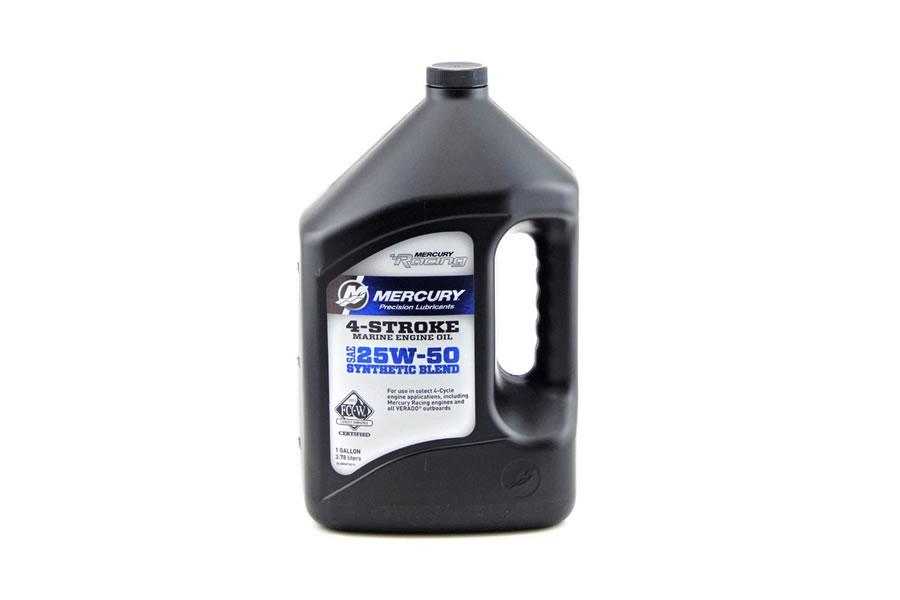 25W 50 Synthetic 4 Stroke Racing Oil