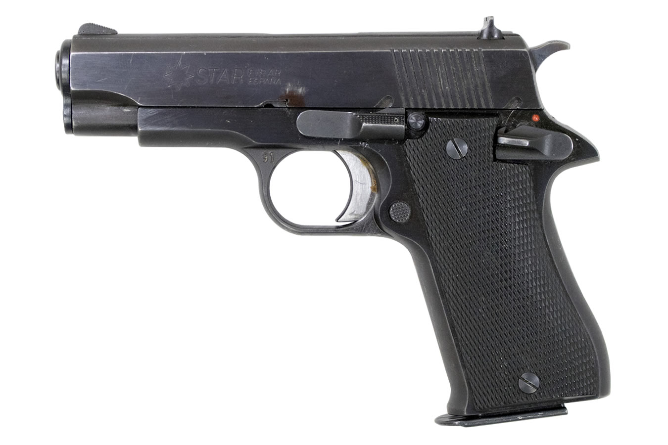 STAR MODEL BM 9MM SEMI-AUTOMATIC PISTOL