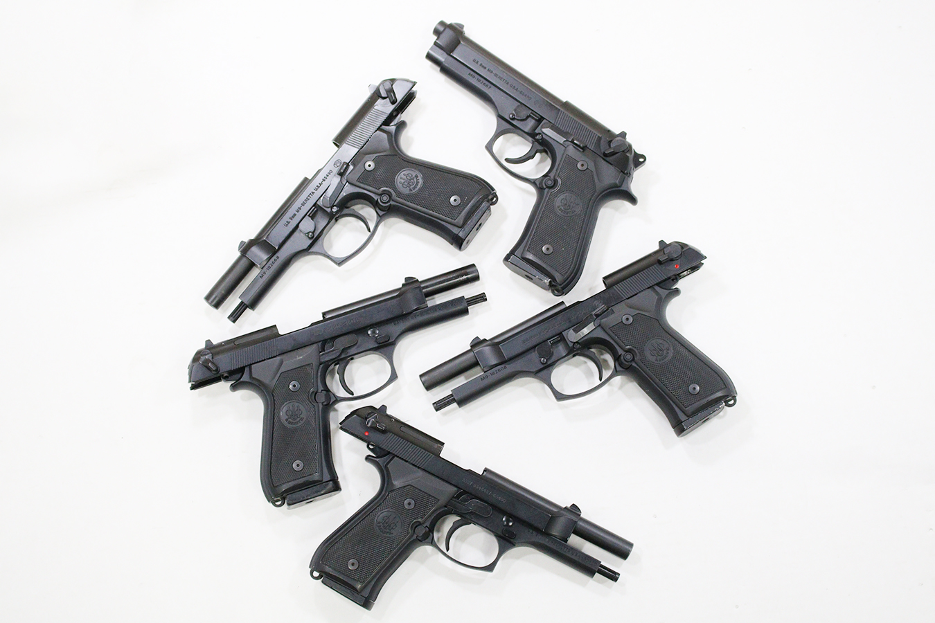 M9 92 Series 9mm Police Trade-in Pistols (Very Good Condition)