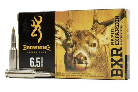 Browning 6.5 Creedmoor 129 gr Matrix Tip BXR 20/Box