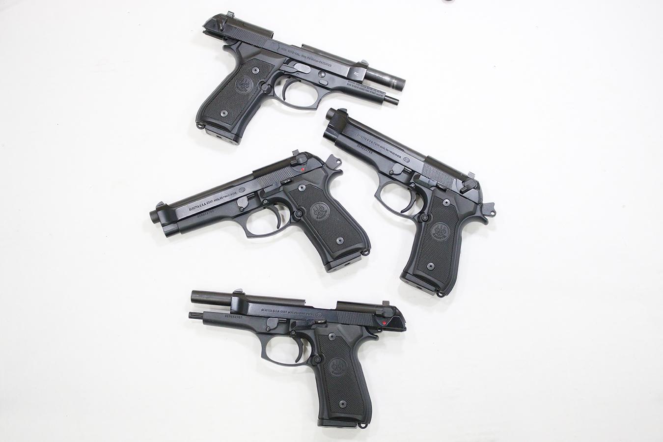 92FS DA/SA 9mm Police Trade-ins (Very Good Condition)
