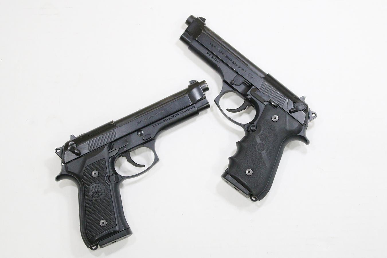 beretta m9 92 series 9mm police trade in pistols good condition