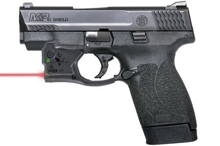 SMITH AND WESSON MP45 SHIELD W/ VIRIDIAN RED LASER