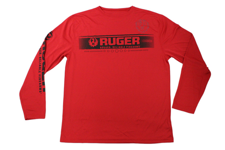 L/S RUGER PERFORMANCE TEE