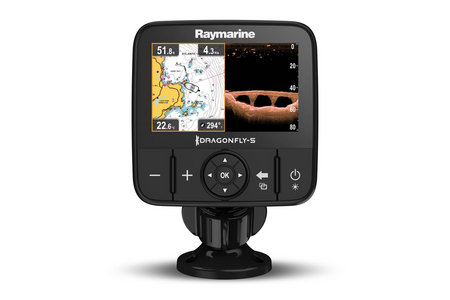 DRAGONFLY5-PRO 5` GPS/CHART/CHIRP SONAR