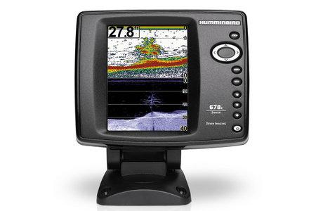 678C HD DI COLOR FISHFINDER DOWN IMAGE