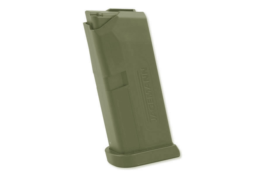 Jag-43 9mm 6-Round Magazine for Glock 43 (Green)