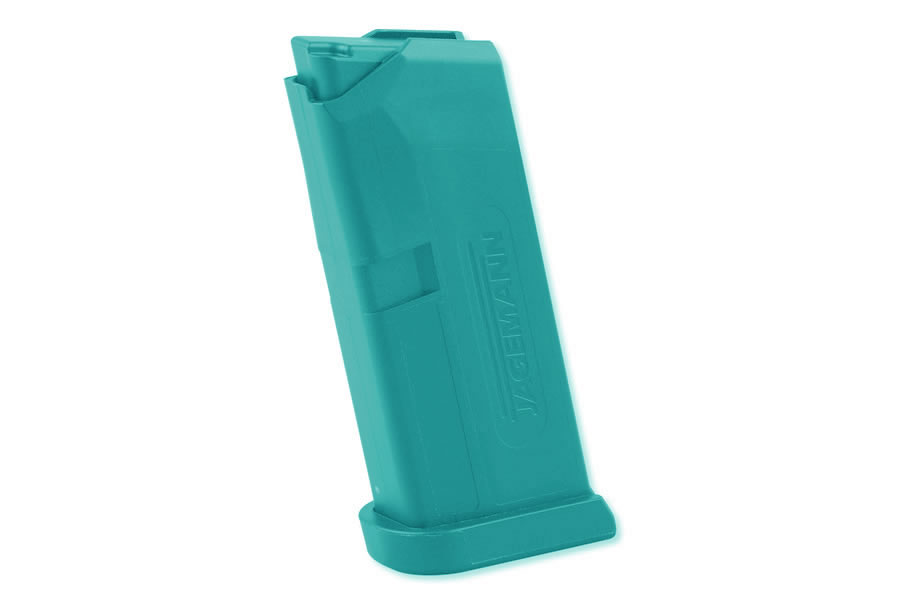 Jag-43 9mm 6-Round Magazine for Glock 43 (Blue)