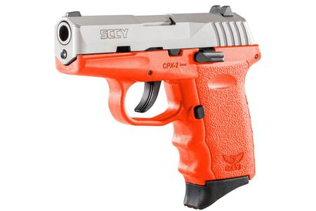 SCCY CPX-2 9MM ORANGE PISTOL