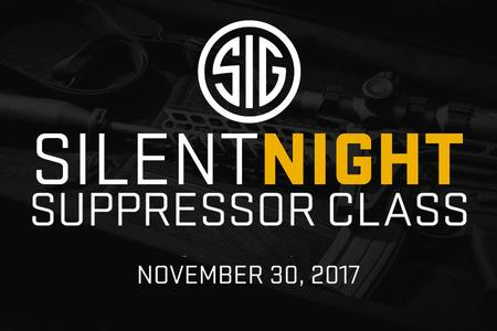 SIG SILENT NIGHT SUPPRESSOR CLASS
