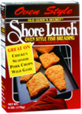 SHORE LUNCH BRAND OVEN STYLE FISH BREADING MIX