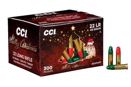 22LR 40 GR LRN 300 ROUND CHRISTMAS PACK