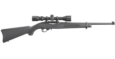 10/22 CARBINE 22LR WITH WEAVER SCOPE