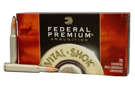 FEDERAL AMMUNITION 338 Win Mag 250 gr Nosler Partition Vital-Shok 20/Box
