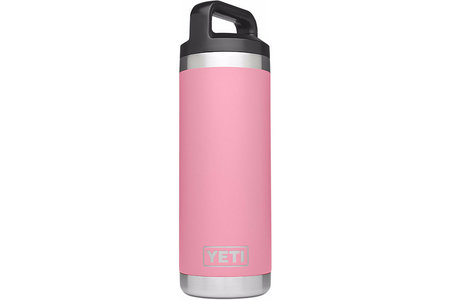 RAMBLER 18OZ. BOTTLE PINK LE