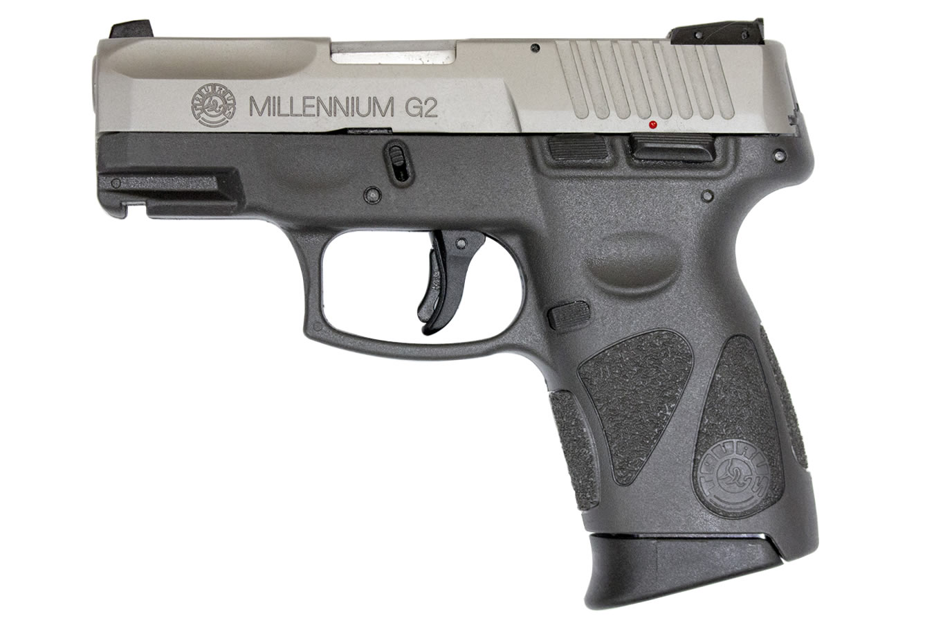 PT111 MILLENNIUM G2 9MM STAINLESS/GRAY