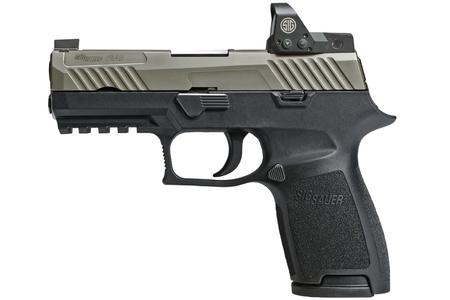 SIG SAUER P320 COMPACT TWO-TONE RX 9MM NICKEL