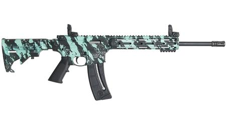 SMITH AND WESSON MP15-22 SPORT ROBINS EGG BLUE 22LR