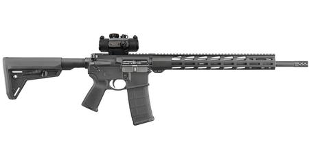 RUGER AR-556 MPR 5.56 W/ TRUGLO RED DOT
