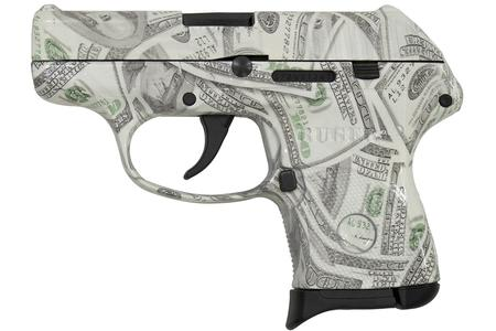 RUGER LCP 380 ACP HUNDRED DOLLAR BILL GLOWING