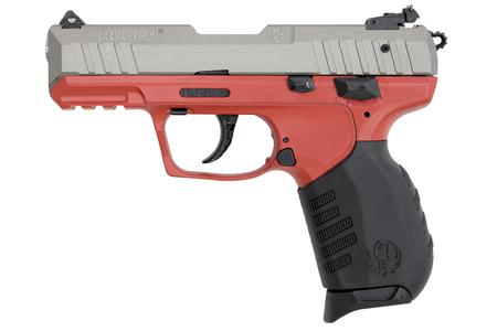 SR22 22LR RED AND CERAKOTE GUNMETAL GRAY