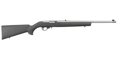 10/22 22LR STAINLESS WITH HOGUE STOCK