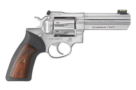 GP100 357MAG 7-SHOT 4`` STAINLESS