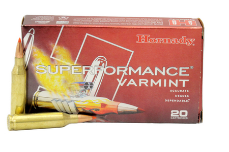 Hornady 243 Win 87 gr V-Max Superformance Varmint 20/Box