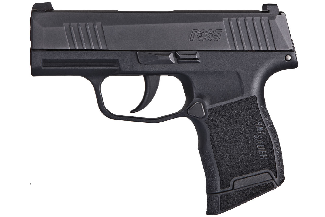 pistol 9mm p365 compact sig micro sauer fired striker sportsman superstore bss condition number