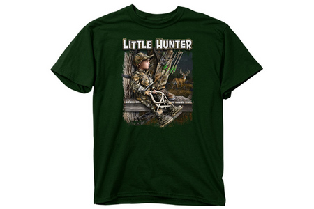 BUCKWEAR YOUTH LIL HUNTER  GRAPHIC TEE