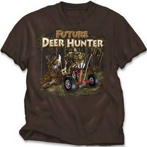 BUCKWEAR YOUTH FUTURE DEER HUNTER GRAPHIC TEE