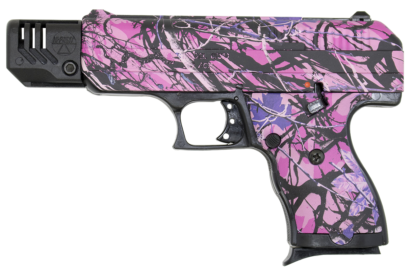 CF380 380 ACP COMPENSATED W/ MUDDY GIRL