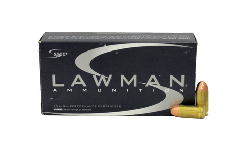 Speer 45 Auto 230 gr TMJ Lawman Police Trade Ammo 50/Box