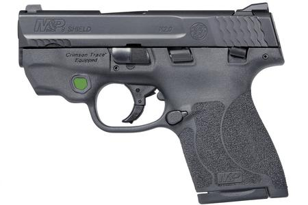 SMITH AND WESSON MP9 SHIELD M2.0 9MM W/TS CT GREEN LASER