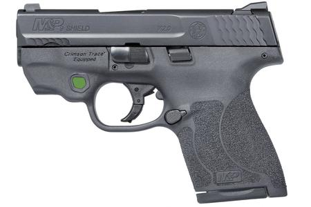 SMITH AND WESSON MP9 SHIELD M2.0 9MM NTS CT GREEN LASER