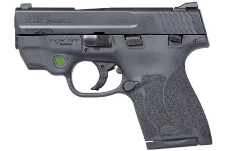 SMITH AND WESSON MP40 SHIELD M2.0 40SW GREEN LASER/TS