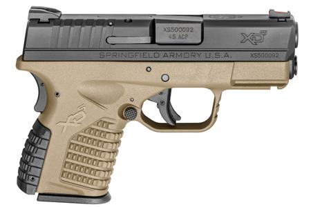 SPRINGFIELD XDS 3.3 45ACP FDE CARRY CONCEAL PISTOL