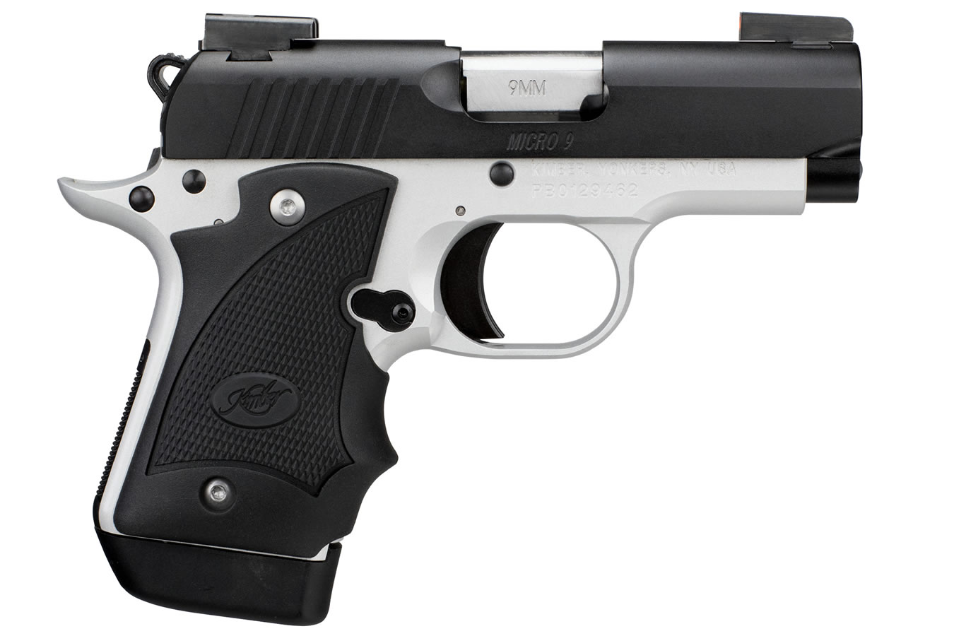 Micro 9 Two-Tone (DN) 9mm Carry Conceal Pistol with Truglo TFX Pro  Day/Night Sights