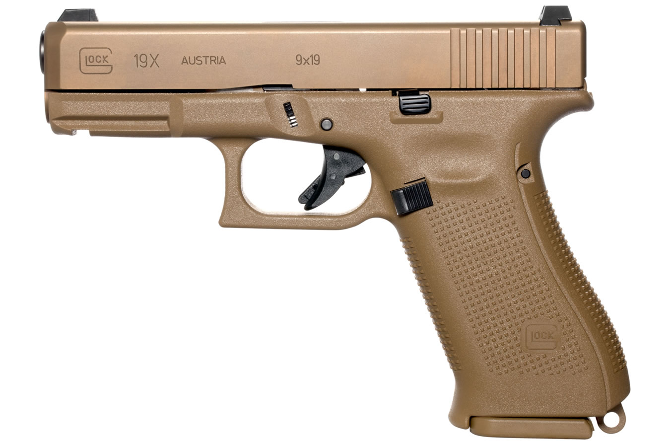 19X 9MM FULL-SIZE FDE PISTOL (LE)