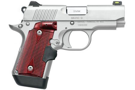 KIMBER MICRO 9 STAINLESS 9MM W/ CRIMSON TRACE