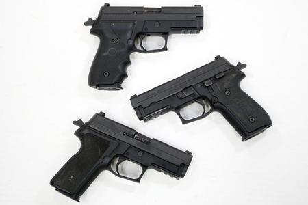 Sig Sauer P229R 40 S&W DA/SA Police Trade-ins (Good Condition)