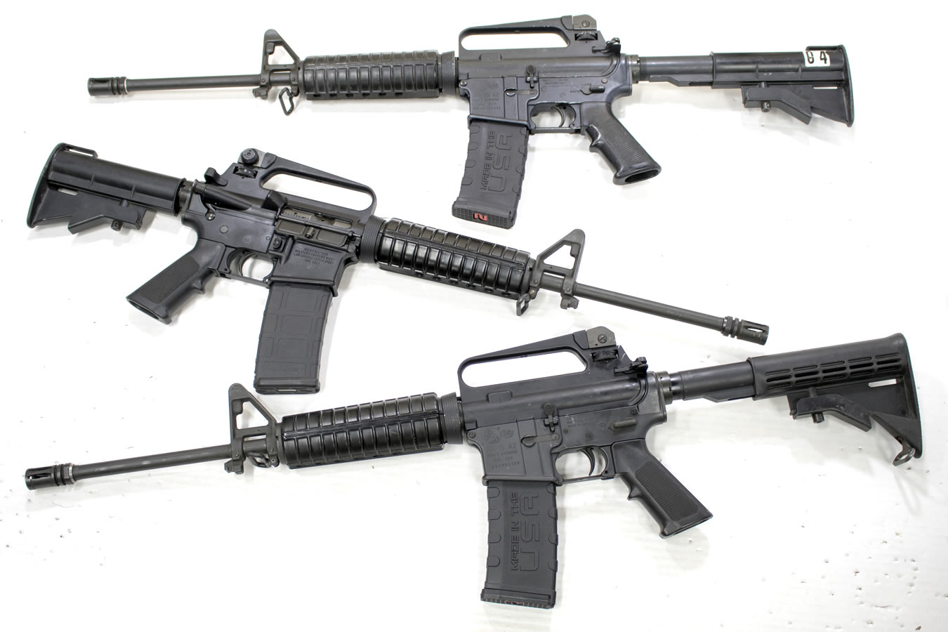 AR-15 A2 223/5 56mm Police Trade-in Rifles