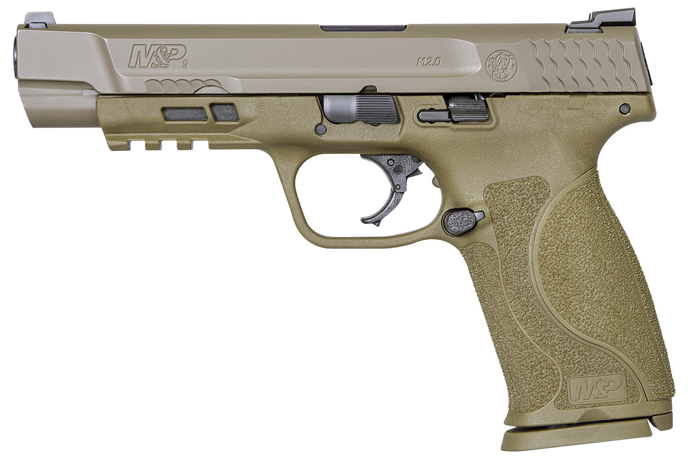 MP9 M2.0 9MM FDE NO THUMB SAFETY